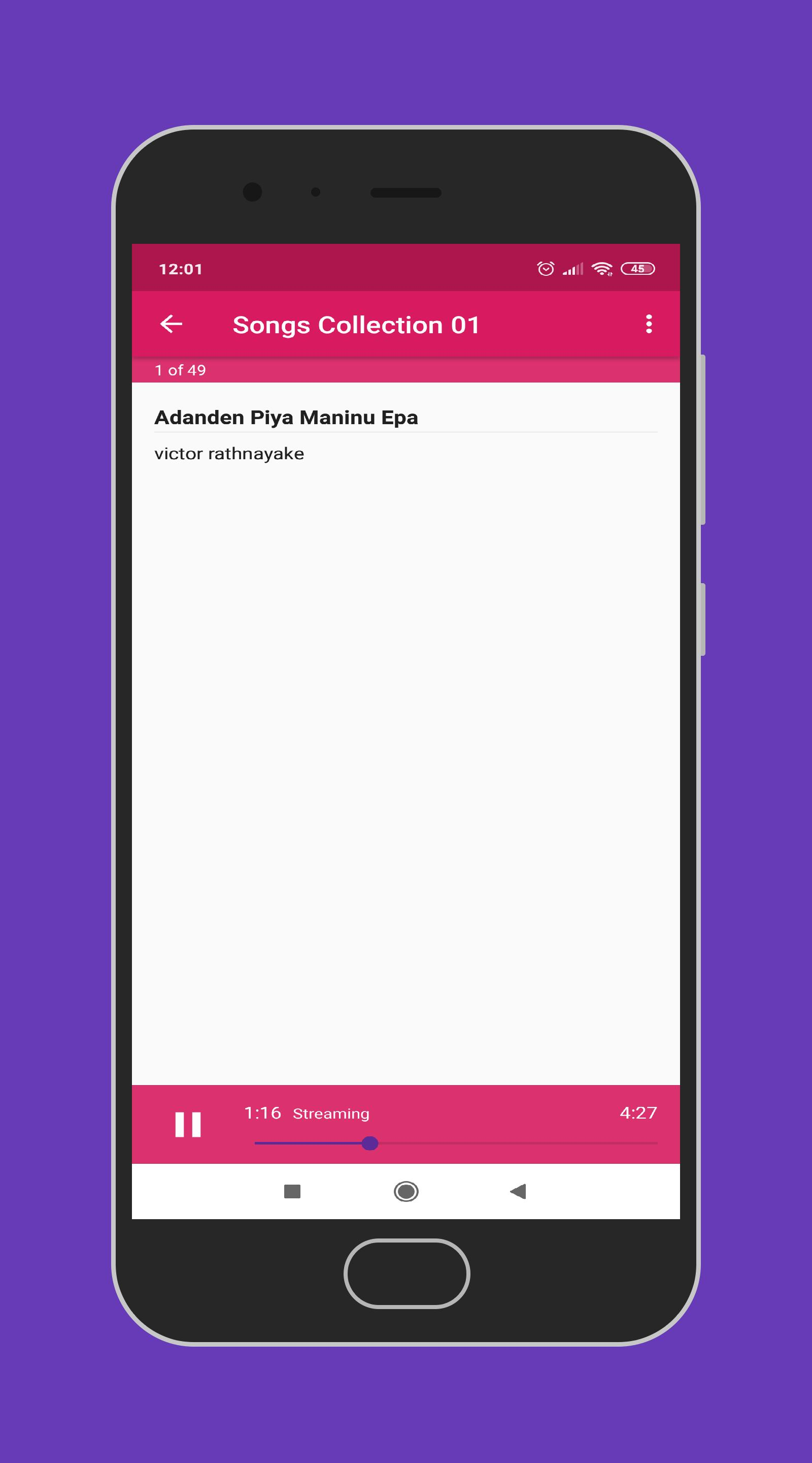 VR Songs - Sinhala Old MP3 for Android - APK Download