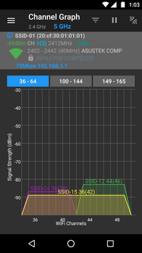 WiFiAnalyzer screenshot 4