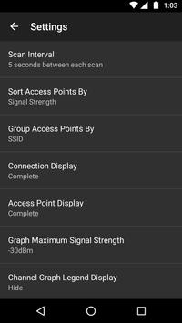 WiFiAnalyzer скриншот 6