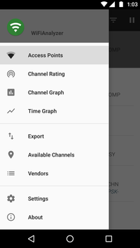WiFiAnalyzer screenshot 8