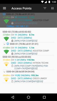 WiFiAnalyzer screenshot 9
