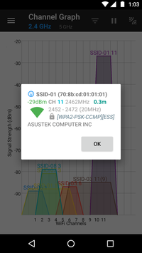 WiFiAnalyzer screenshot 15