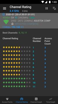 WiFi Analyzer (open-source) Screenshot 2