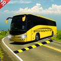 Modern Coach Tourist Bus: City Driving Games Free