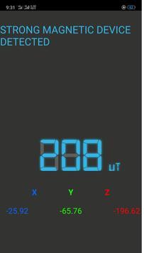 Metal Detector and Body Scanner screenshot 1