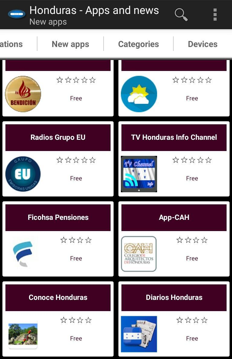 Honduran S And Tech News For Android