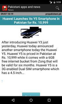 Pakistani apps and news screenshot 3