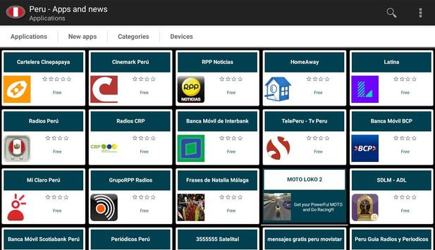 Peruvian apps and tech news for Android - APK Download