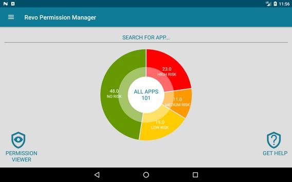 Revo App Permission Manager screenshot 7