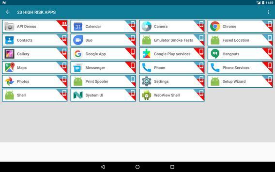 Revo App Permission Manager screenshot 14