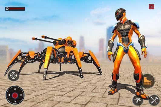 Speed Spider Robot Hero Rescue Mission screenshot 4