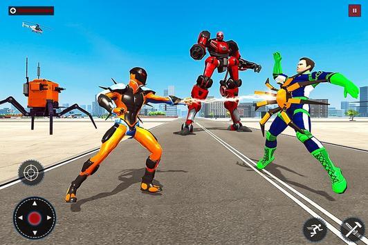 Speed Spider Robot Hero Rescue Mission screenshot 15