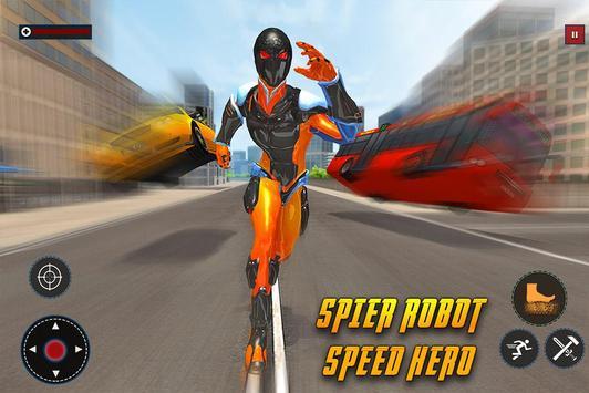 Speed Spider Robot Hero Rescue Mission screenshot 17