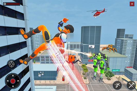Speed Spider Robot Hero Rescue Mission screenshot 12