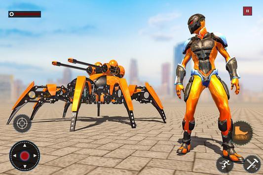 Speed Spider Robot Hero Rescue Mission screenshot 10