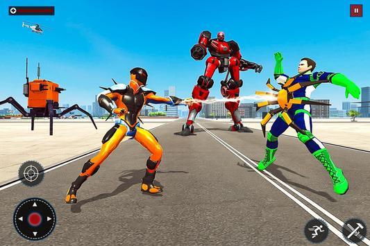 Speed Spider Robot Hero Rescue Mission screenshot 9