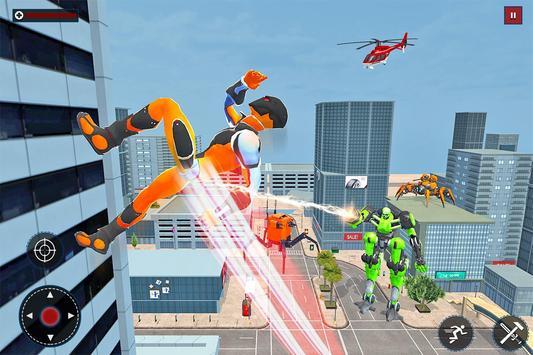 Speed Spider Robot Hero Rescue Mission screenshot 6