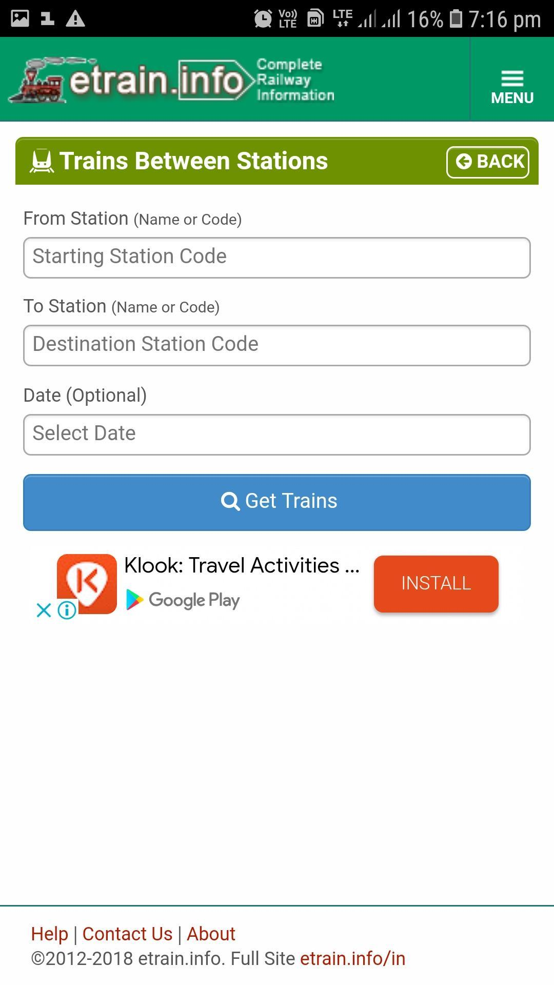 train live status 2019 for Android - APK Download