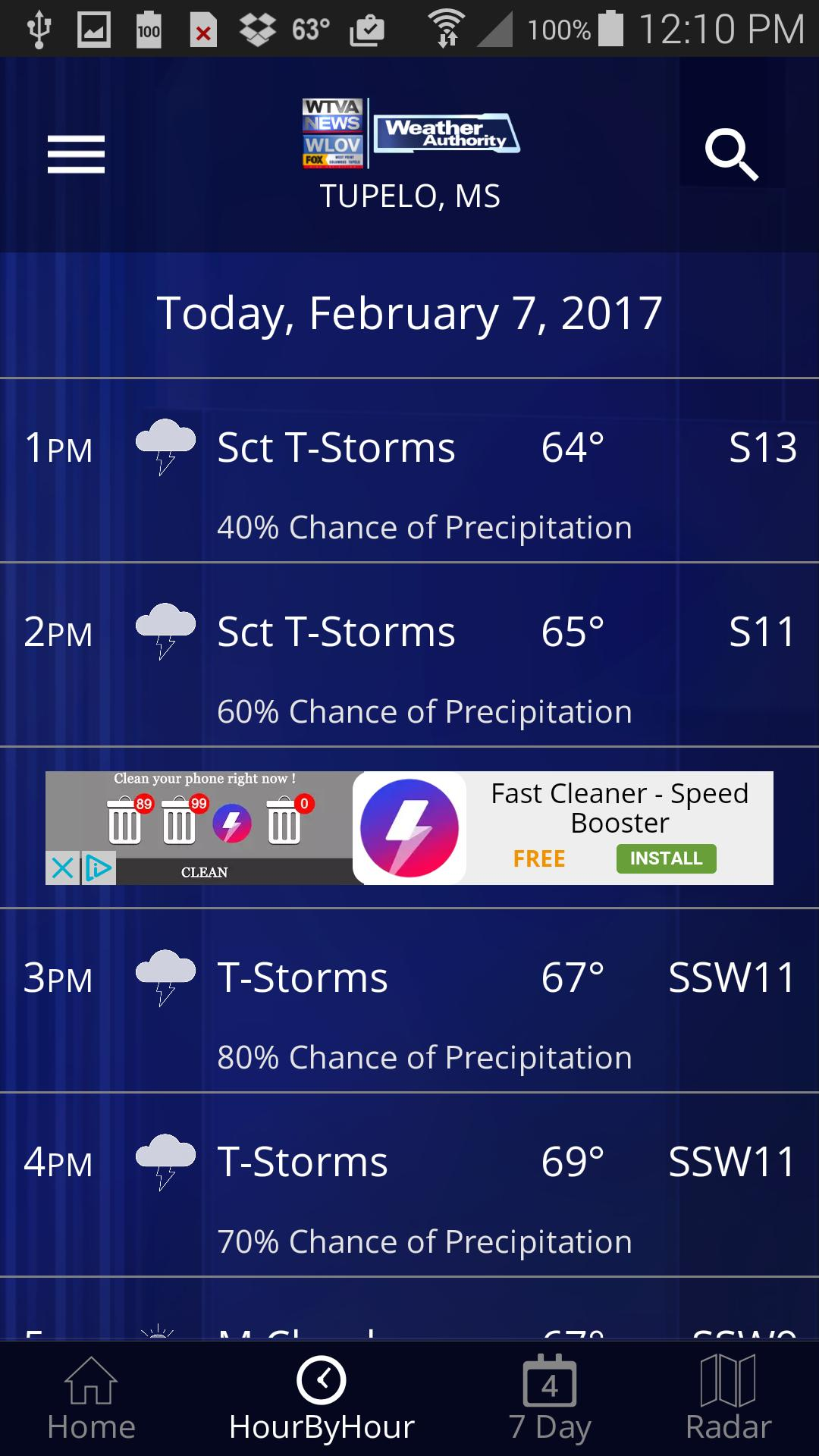 WTVA Weather for Android - APK Download