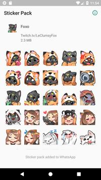 Foxo Stickers poster