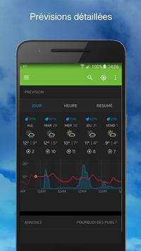 Weather capture d'écran 1