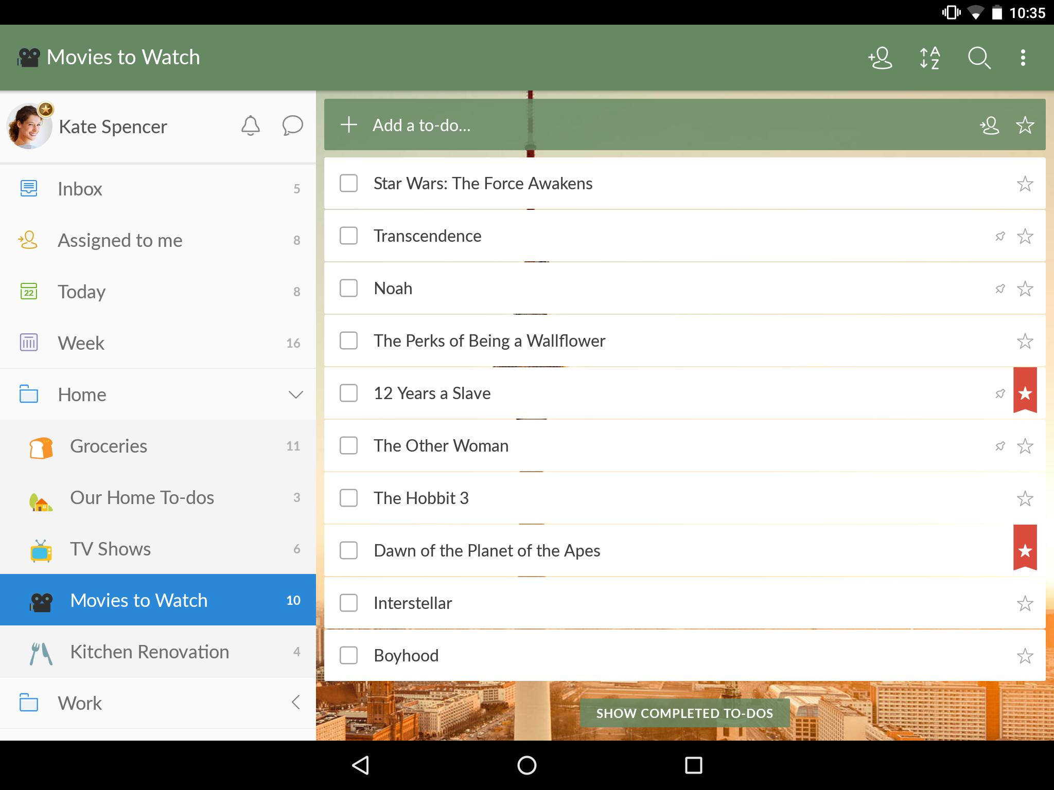 Wunderlist for Android - APK Download