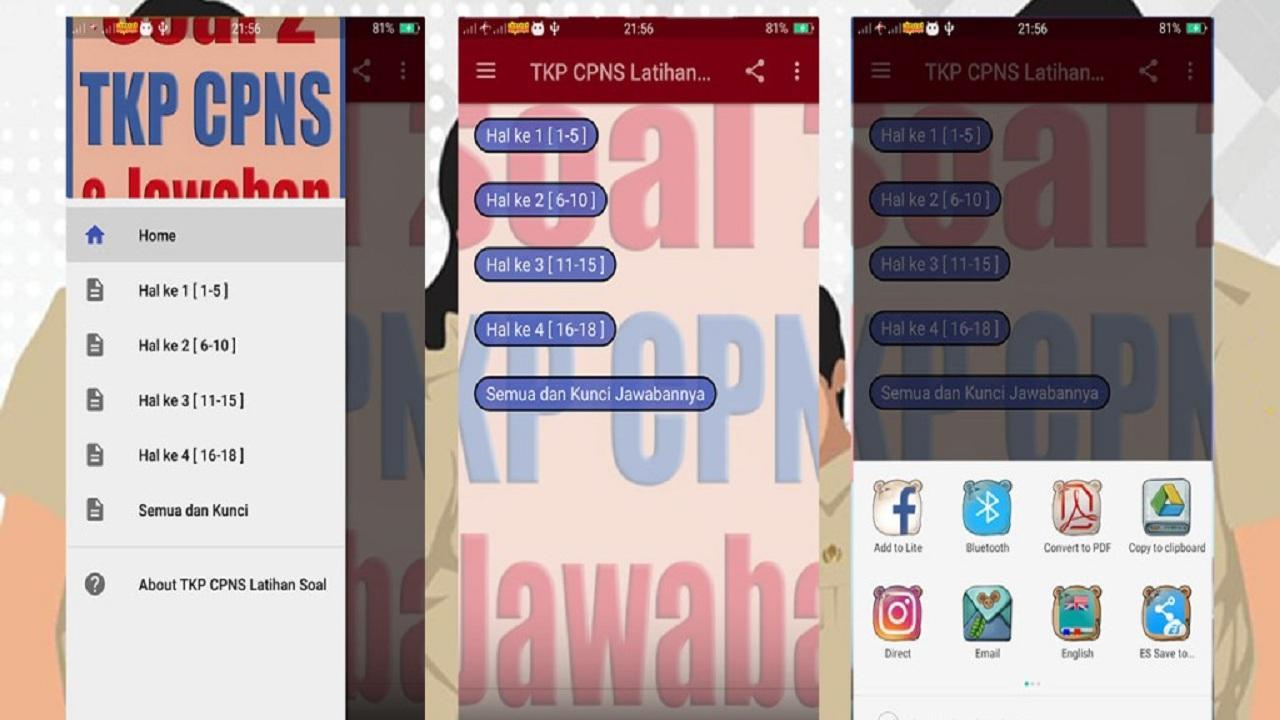 Tkp Cpns Latihan Soal Soal For Android Apk Download