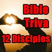 12 Disciples Triva LCNZ Bible Game icon