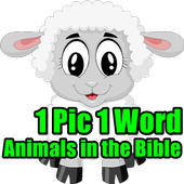 1 Pic 1 Word Animals in Bible LCNZ Bible Word Game icon