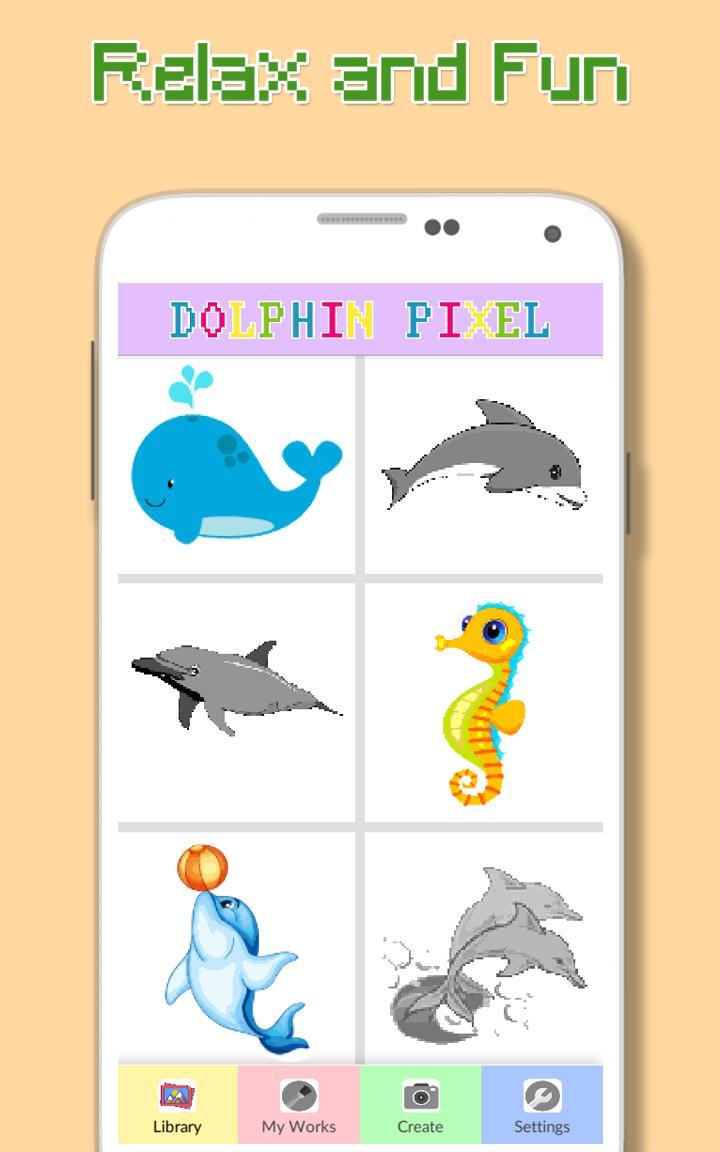 Dauphin Et Ses Amis Par Couleur Pour Android Téléchargez Lapk
