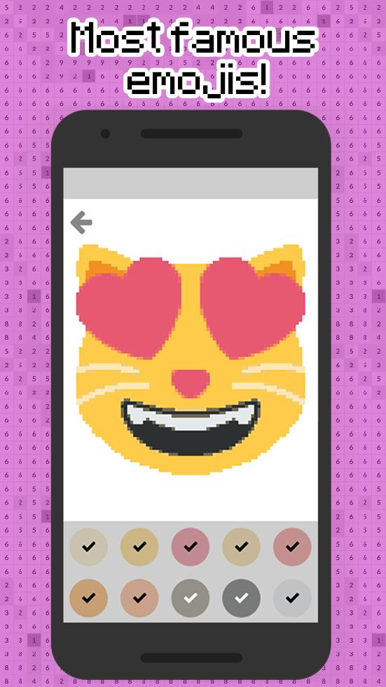 Color By Numbers Emoji Pixel Art For Android Apk Download