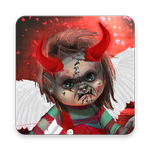 Scary Doll Cupid Theme - Wallpapers and Icons APK