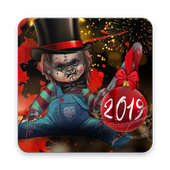 Scary Doll New Years Theme - Wallpapers and Icons icon
