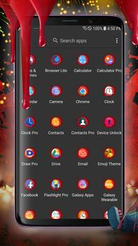 Scary Doll New Years Theme - Wallpapers and Icons screenshot 2