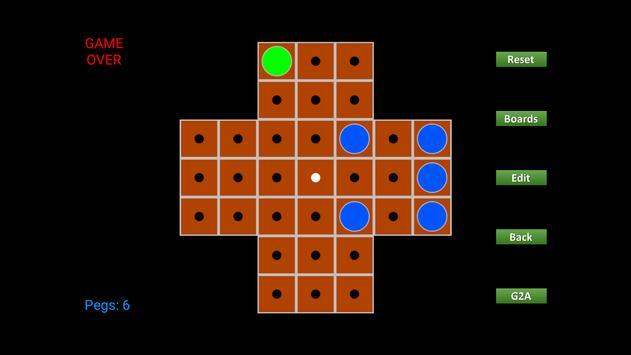 WyeSoft Peg Solitaire screenshot 3