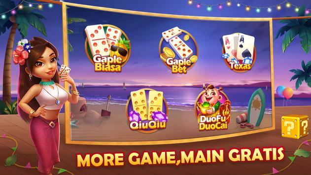 Domino QiuQiu Gaple Slots Online poster