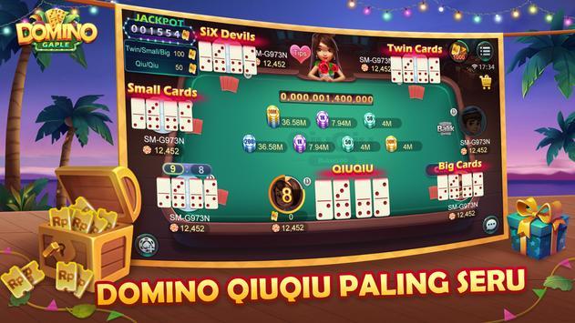 Domino QiuQiu Gaple Slots Online screenshot 3