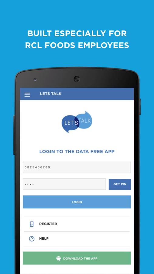 RCL FOODS Let's Talk for Android - APK Download