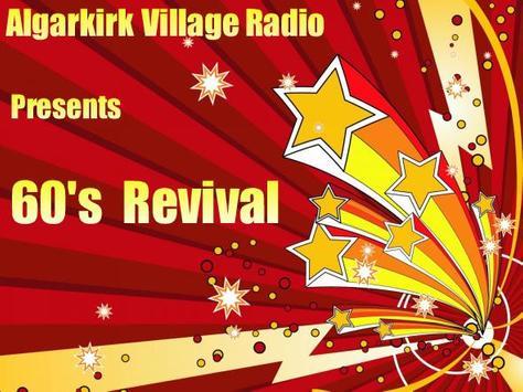 Algarkirk Village Radio poster
