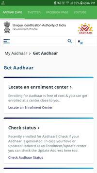 Aadhar Info screenshot 1
