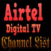Airtel Digital TV Channel List icon