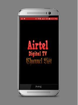 Airtel Digital TV Channel List poster