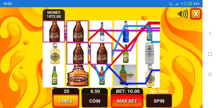 Alcohol Slot Simulator screenshot 2