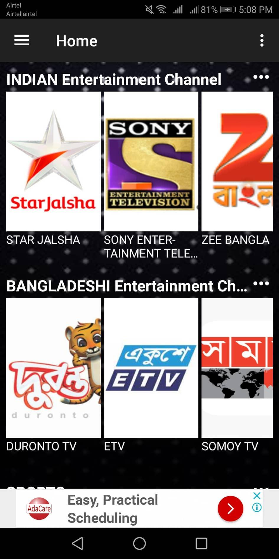 All In One LIVE TV for Android - APK Download