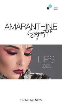 Amaranthine Shop poster