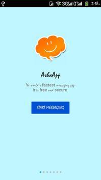 AshaApp الملصق