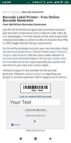 Free Barcode Generator Software