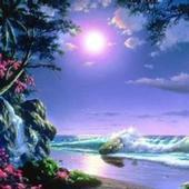 Beautiful Moon Wallpaper icon