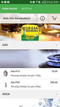 Belo Gás Distribuidora poster