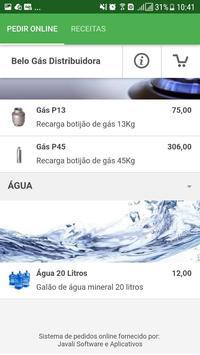 Belo Gás Distribuidora screenshot 1